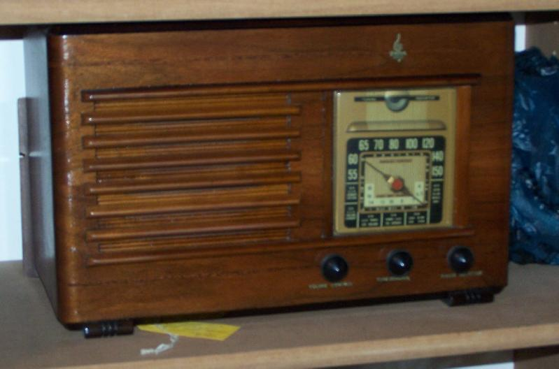 High number Emerson vintage radio